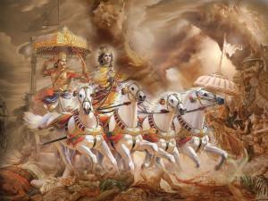 Krihna & Arjuna