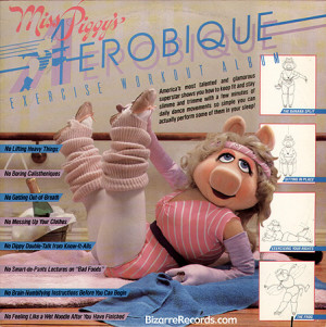 Miss Piggy Aerobique - the-muppets Photo
