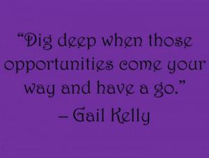 Gail Kelly.