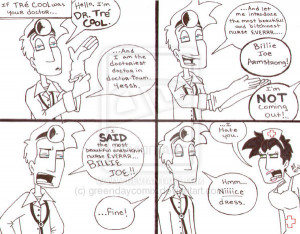 GDComix_ Dr. Tre Cool pt.1 by GreenDayComix