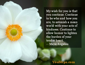 My wish for you …