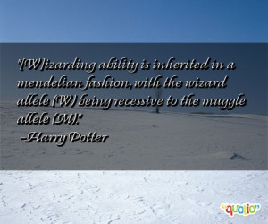 Muggle Quotes