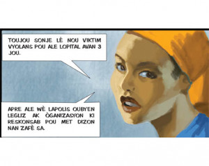 Comics to combat violence against women in Haiti