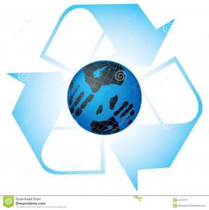 Save our planet. Vector illustration. Isolated on white background.