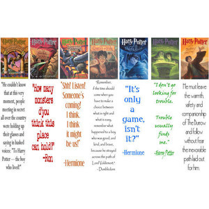 Harry Potter ; best quotes from each book