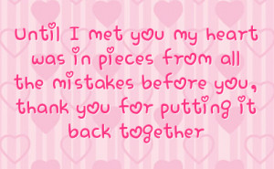 Thank You Boyfriend Quotes