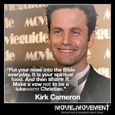 ... earth will ridicule Kirk Cameron's devotion to God. HE IS AWESOME