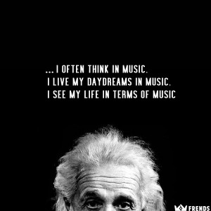 ... daydreams in music. I see my life in terms of music