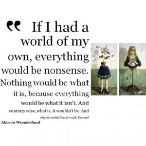 Alice In Wonderland Movie Quotes