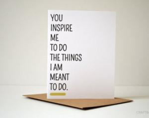 Inspirational. Thank You. Thanks. Teacher Card. Teacher Gift. Mentor ...