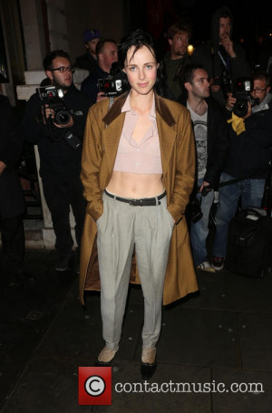 edie campbell london fashion week ss14 3867985