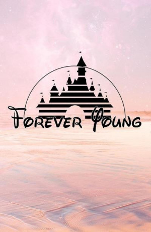 cute, forever, forever young, love, pink, pretty, quote, quotes