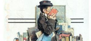 ... libros. 10 libros para leer. The Bookworm (1926), de Norman Rockwell