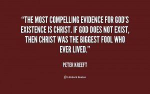 God 39 s Existence Quotes