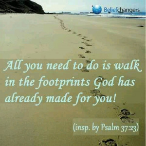 Walking with God...
