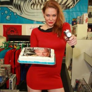Maitland Ward Hosts a Celebration of Captain Kirk's Birthday in LA