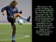 Tobin Heath #USWNT More
