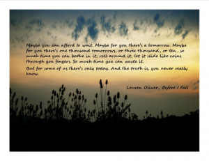 ... tags for this image include: lauren oliver, fall, i, quote and quotes