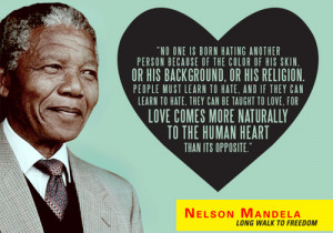 Nelson Mandela Quotes About Racism Nelson mandela