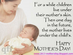 Popular Quotes And Greeting Cards For Happy Mothers Day 2014