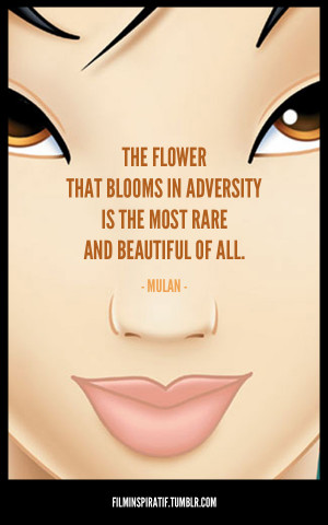 Quote from Mulan