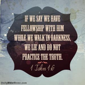 Bible Verses On Lying