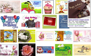 Free Ecards Happy Birthday from the First Page of Google