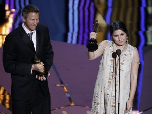 filmmaker sharmeen obaid chinoy has just won her first and pakistan s ...