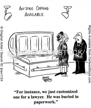 Funeral Funnies- Customized Funerals