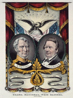 ... for whig party poster 1848 campaign banner for whig party by everett