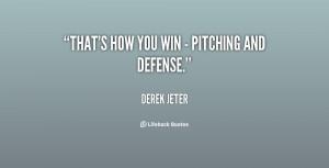 Pitcher Baseball Quotes Inspirational