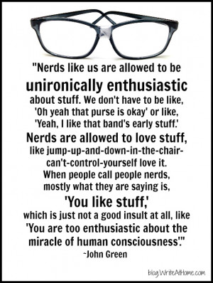 On the Superiority of Nerds