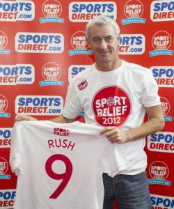... Ian Rush , was on hand in Speke earlier this week to back the campaign
