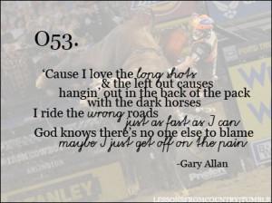 Gary Allan Quotes & Sayings