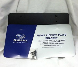 NEW OEM SUBARU LICENSE PLATE BRACKET FORESTER IMPREZA LEGACY OUTBACK