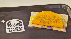 Taco Bell Forces Formerly Frustrated Fans To Literally Eat Their Words ...