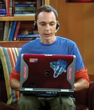 Sheldon Cooper - Big Bang Theory - Jim Parson