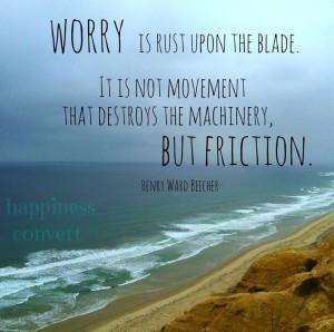 Worry quote via www.Facebook.com/HappinessConvert