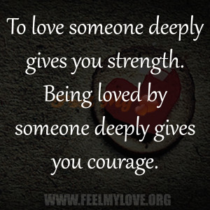 Love You Deeply Quotes