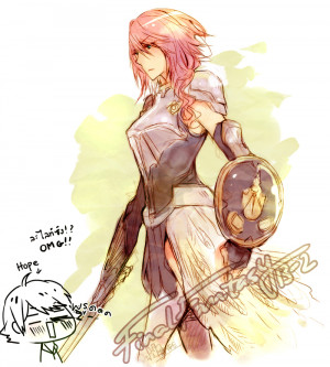 fantasy xiii and final fantasy xiii 2 here you go