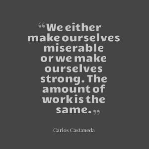Carlos Castaneda #Quote