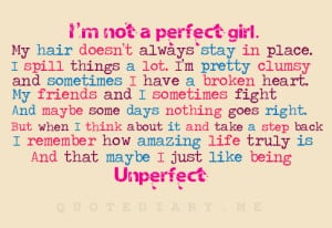 Not a Perfect Girl