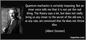 Quantum Physics quote #2