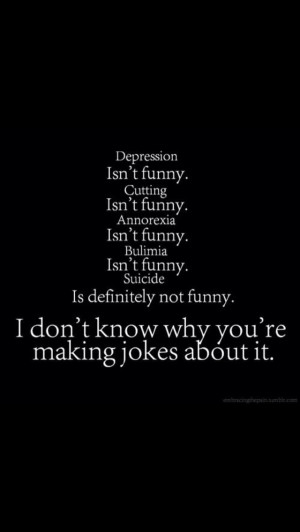 Quotes About Depression And Self Harm Depression quotes depression