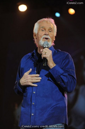 Kenny Rogers performs at Hammersmith Apollo