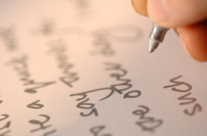 handwritten note in the margins of your sales letter is one way to ...
