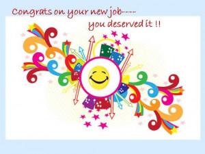 Congratulations Your New Job Quotes Pic #17