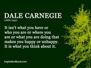 Contentment Quotes – Dale Carnegie