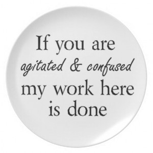 Funny quotes gifts unique plate gift idea