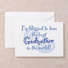 Blessed Godmother BL Greeting Cards (Pk of 20) for